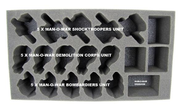 (Khador) Khador Man-O-War Foam Tray (PP-3)