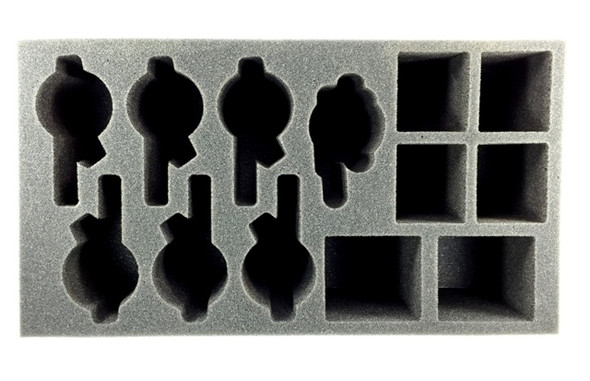 Protectorate of Menoth Exemplar Vengers Foam Tray (PP-4)