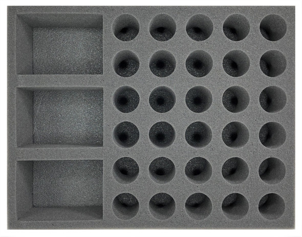 (Space Marines) 3 Rhino 30 Troop Foam Tray (BFL-3)