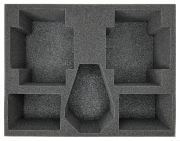 (Space Marines) 2 Land Raider 1 Drop Pod 4 Rhino Foam Tray (BFL-4.5)