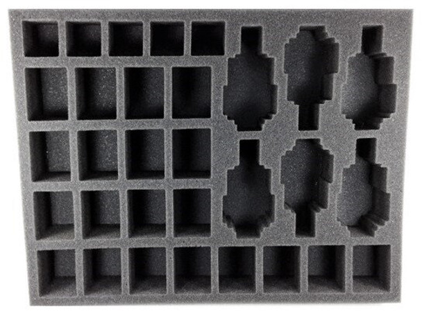 (30K) 25 Heavy Support 6 Rapier Batteries without Bases Foam Tray (BFL-2)
