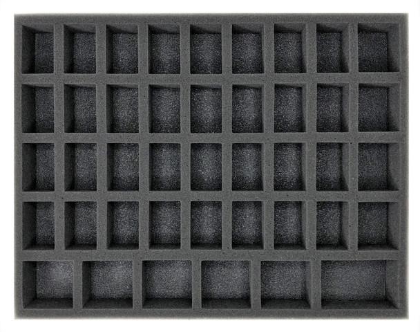 (Gen) 32mm 36 Medium 6 Large Troop Foam Tray (BFL-1.5)