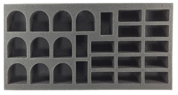 (Space Marine) 10 Terminator 16 Assault Marine Foam Tray (BFM)