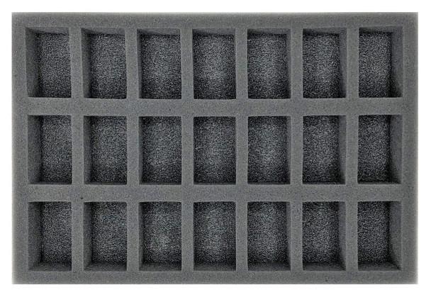 (Space Marine) 21 Assault Marine Foam Tray (BFS)