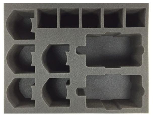 (30K) Adeptus Mechanicum Heavy Support Foam Tray (BFL-4)
