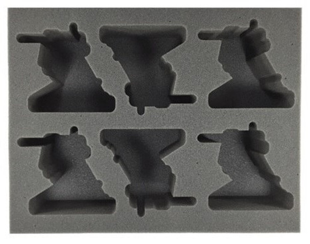 (Adeptus Mechanicus) 6 Ironstrider Foam Tray (BFL-3)