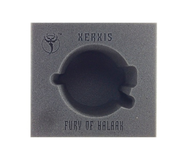 (Skorne) Xerxis, Fury of Halaak Battle Engine Foam Tray (PP.5-5)