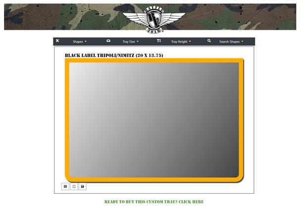 (Custom) Custom Tripoli/Nimitz Black Label Foam Tray (TN)