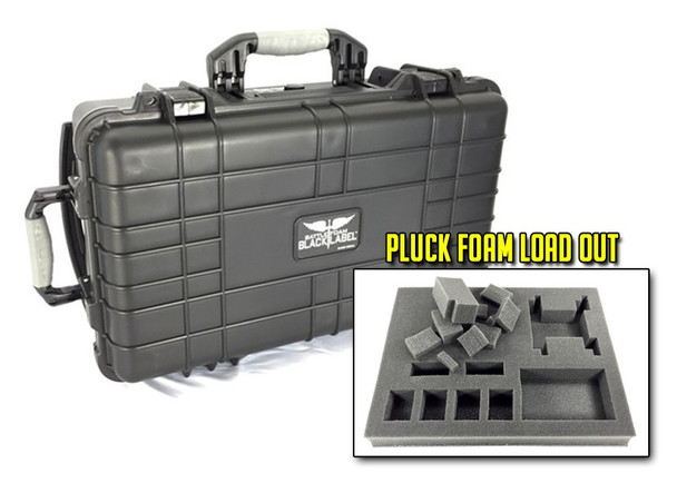 The Fitzgerald Black Label Case Pluck Foam Load Out