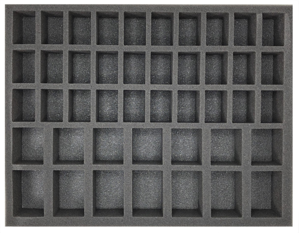 (Gen) 30 Medium Troop and 14 Large Troop Foam Tray (BFL)