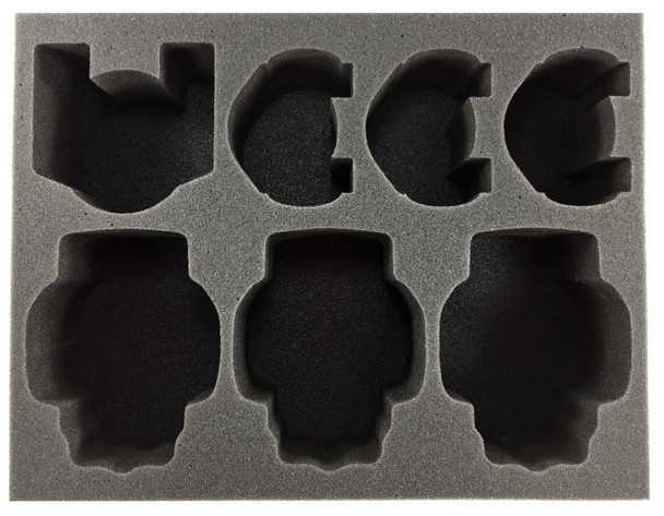 (30K) Horus Heresy 4 Walker 3 Tank Foam Tray (BFL-4)