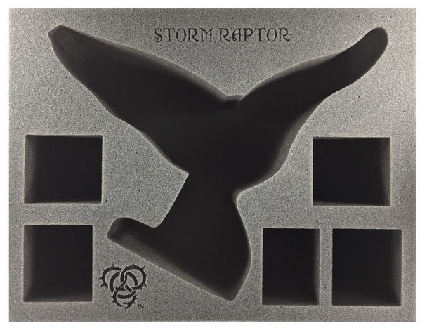 (Circle) Storm Raptor with Wings Foam Tray (BFL-5.5)