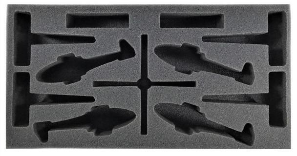 (Team Yankee) Flames of War British Lynx Foam Tray (BFM-2)