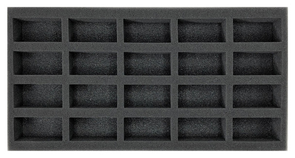 (Gen) Flames of War 20 Small Vehicle Foam Tray (BFM-1.5)