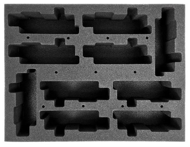 (30K) 10 Custodes Jetbikes Foam Tray (BFL-2.5)
