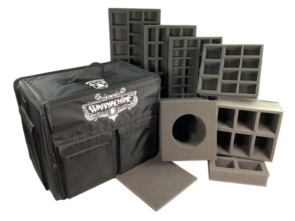 (Warmachine) Privateer Press Warmachine Bag Standard Half Tray Load Out (Black)