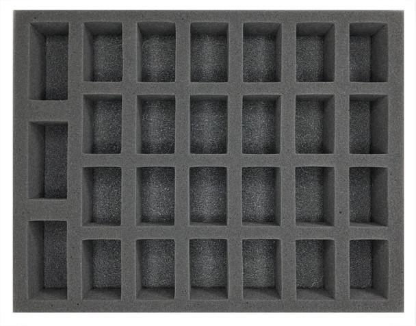(Gen) 24 Large 3 X-Large Troop Foam Tray (BFL-2)