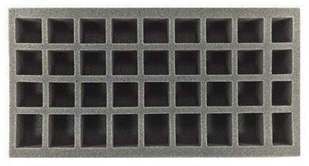 (Gen) 24 Small 8 Medium 4 X-Small Standing Model Foam Tray (BFM)
