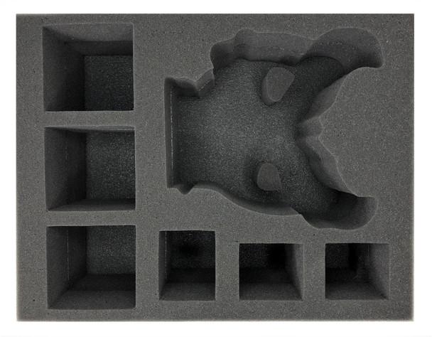 (Death Guard) Mortarion the Reaper Foam Tray (BFL-5)