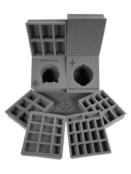 (Warmachine) Protectorate of Menoth Half Tray Kit for the Warmachine Bag (PP.5)