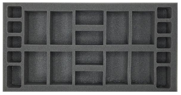 (Gen) Flames of War Generic Artillery Foam Tray (BFM-1.5)