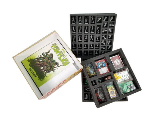 TMNT Shadows of the Past Game Foam Tray Kit