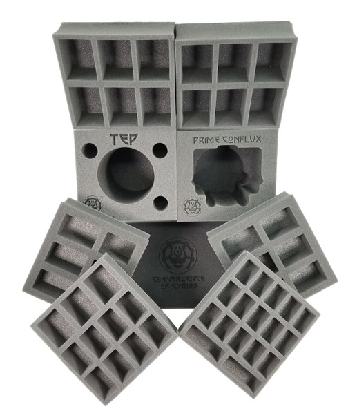 (Warmachine) Convergence of Cyriss Half Tray Kit for the Warmachine Bag (PP.5)