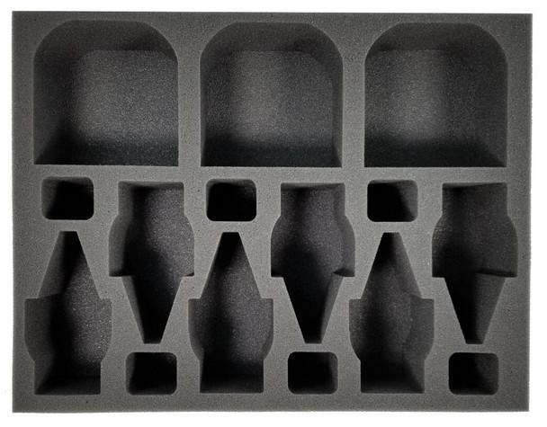 (Tau) 3 Ghostkeel 6 Broadside Foam Tray (BFL-3)