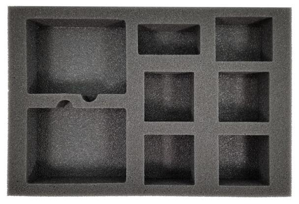 Shadespire Khorne Bloodbound/Garrek's Reavers Warband Foam Tray (BFS-1.5)