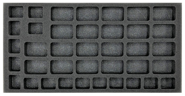 (US) Flames of War US Armored Rifle or Rifle Company with HMG Platoon Foam Tray (BFM-1)