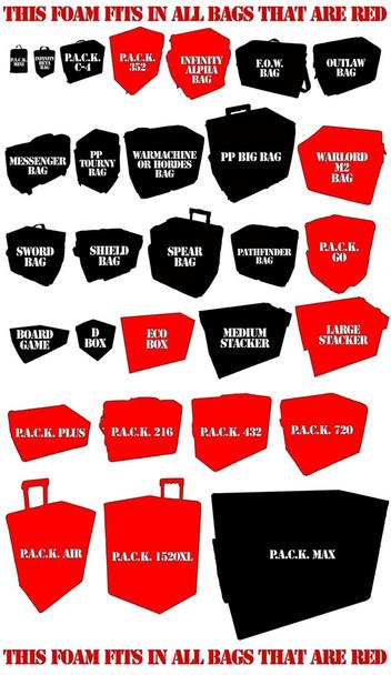 Age of Sigmar Malign Sorcery Foam Kit (BFS)