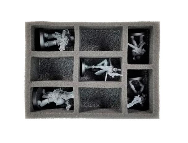 (Mini) EVA Mini-X Kill Team Micro Troop and Pluck Foam Load Out (Black)