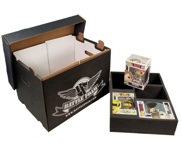 Battle Foam Large Stacker Box 15 POP Load Out (Black)
