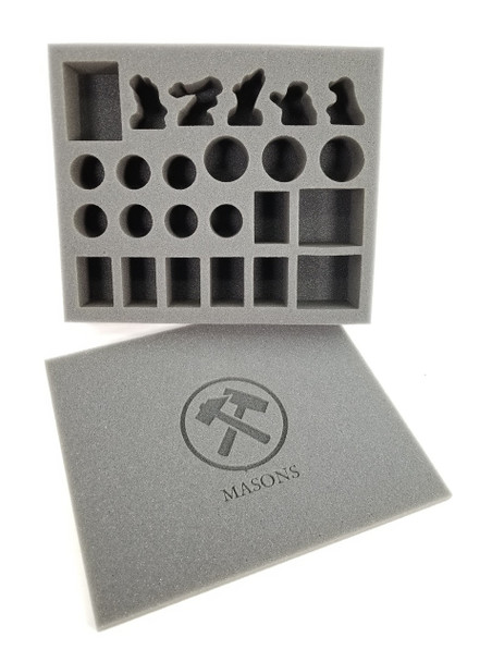 Guild Ball Masons Foam Kit (BFB)