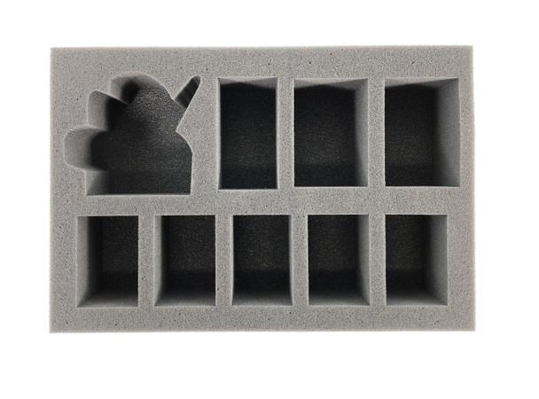 (Chaos Space Marine) Abaddon the Despoiler Foam Tray (BFS-2.5)