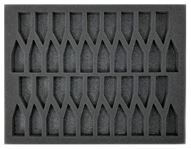(Tyranids) Tyranids Troop Foam Tray (BFL)