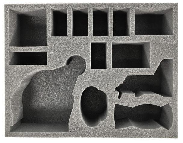 Age of Sigmar Endless Spells Hedonites of Slaanesh with Fane of Slaanesh Foam Tray (BFL-3)