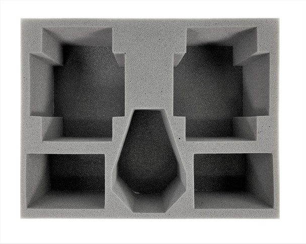 "(40K) 5x Apocalypse Battle Foam Large 4.5"" Vehicle Foam Kit (BFL-4.5)"