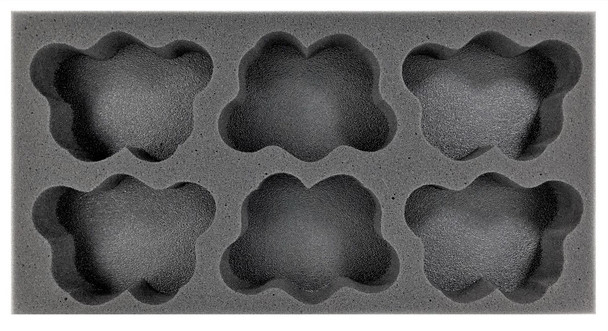 (40K) Apocalypse 32mm Movement Tray Foam Tray (BFM-1.5)