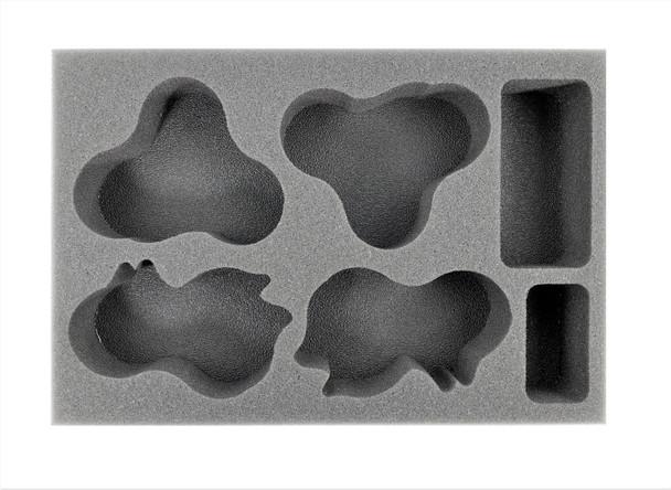 (40K) Apocalypse 40mm Movement Tray Foam Tray (BFS-1.5)