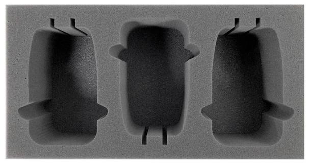 (Adeptus Mechanicus) 3 Skorpius Disintegrator/Dunerider Foam Tray (BFM-3.5)