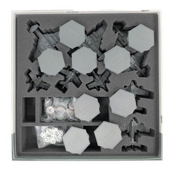 Aeronautica Imperialis Wings of Vengeance Game Box Foam Tray with Stems Glued In
