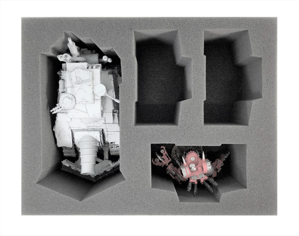 (Ork) 1 Kill Bursta/Blasta 3 Deff Dread Foam Tray (BFL-4.5)