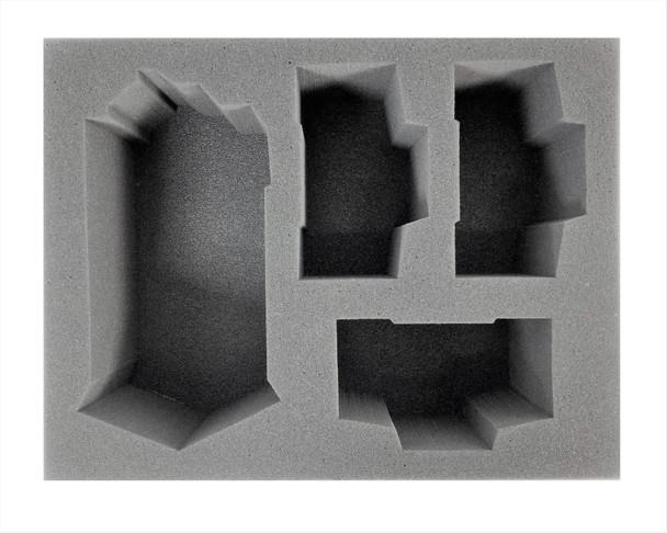 (Ork) 1 Kill Bursta/Blasta 3 Deff Dread Foam Tray (BFL-4.5)