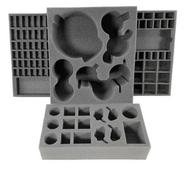 Time of Legends Joan of Arc Apocalypse Expansion Game Box Foam Kit