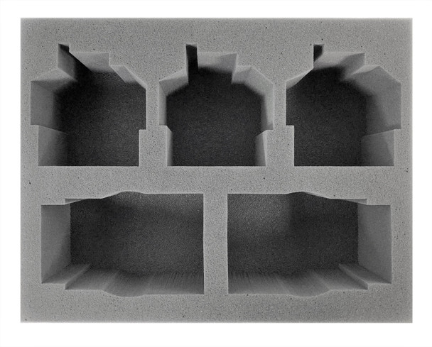 (Space Marine) 2 Primaris Impulsor 3 Invictor Foam Tray (BFL-4.5)