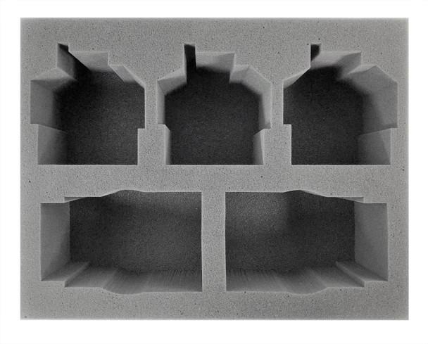 (Space Marine) 2 Primaris Impulsor 3 Invictor Foam Tray (BFL-4.5)