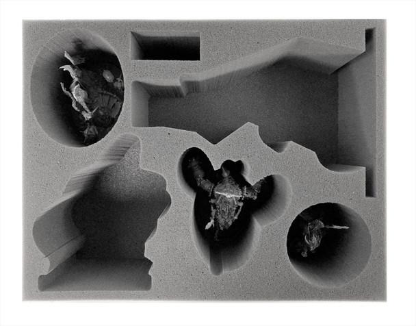 Age of Sigmar Ossiarch Bonereapers Katakros Nagash Arkhan Arch-Kavalos Zandtos and Harvester Foam Tray (BFL-5)