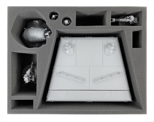 Star Wars Legion Imperial Bunker and Crashed Escape Pod Foam Tray (BFL-4)