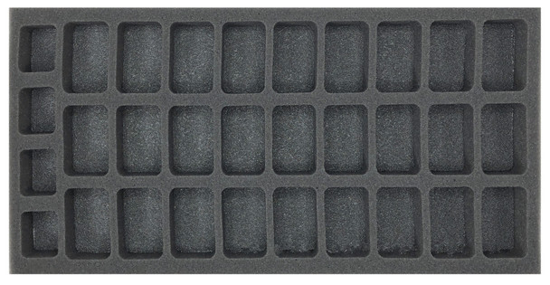 (Vietnam) Flames of War PAVN Infantry Company Foam Tray (BFM-1)
